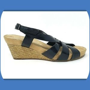 AEROSOLES Babylight Wedge Sandals